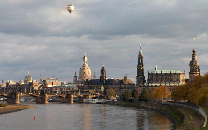Dresden, a Florencia do Elba
