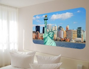 Exemplo de mural de parede
