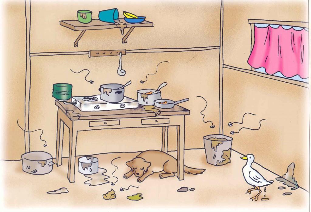 Exemplo de cociña alemana