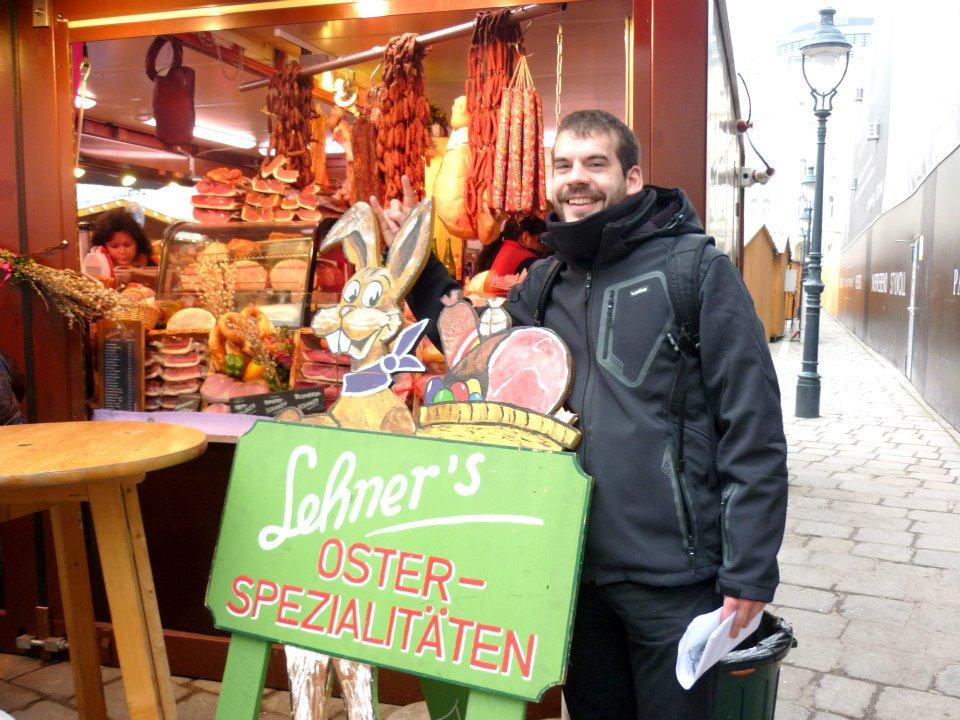 Celebrando a Pascua en Viena