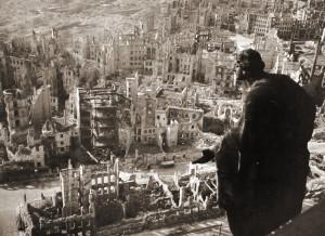 Destrucción de Dresden en 1945