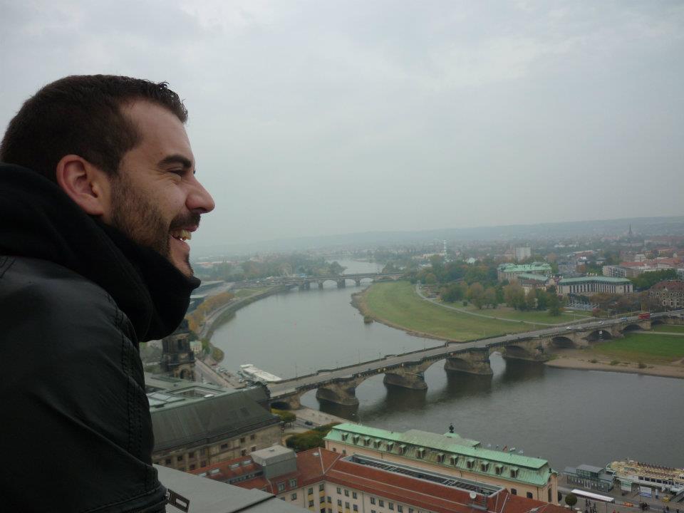 Vista panorámica dun bárbaro en Dresden