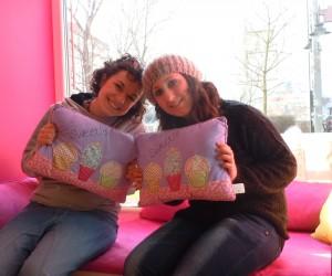 Francesca y Valeria acabaron volviendo a Dresden