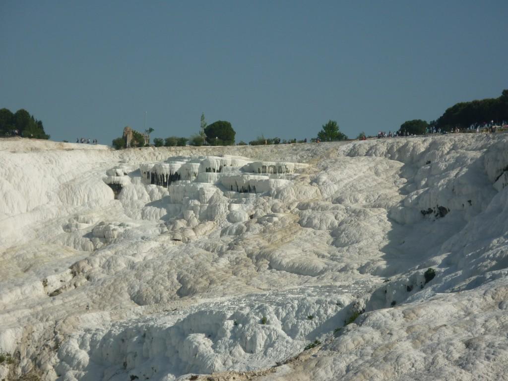 "Pamukkale, o ""castelo de algodón"""