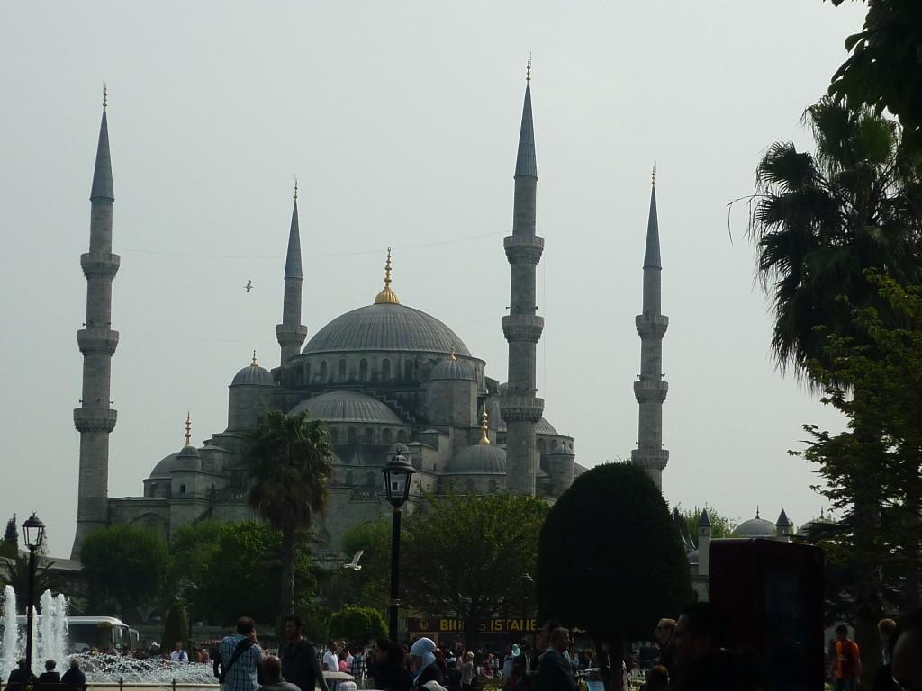 A impoñente Mezquita Azul de Estambul