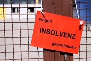 Cerrado por insolvencia